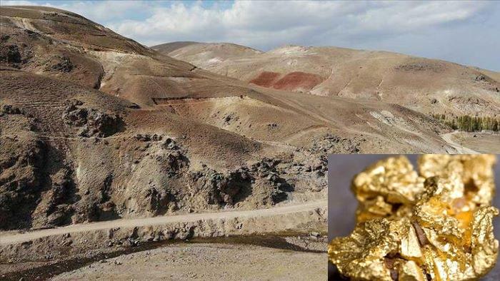 Ağrı'da 1.2 milyar dolarlık 20 ton altın  bulundu