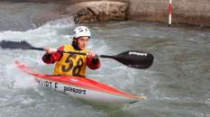 Akarsu Kano Slalom Türkiye Kupası yarışları Artvin'de başladı
