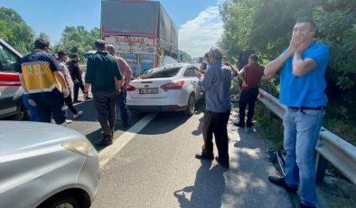Anadolu Otoyolu'nda kaza: 1 ölü