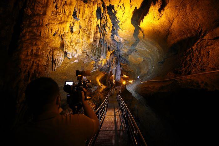 """""""Çal Mağarası"""" yer altındaki saklı cennet"""