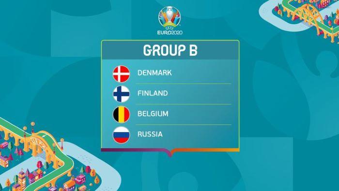 EURO 2020'de B Grubu