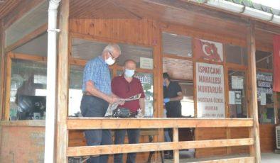 Edirne'de muhtarlıkta hırsızlık yapan güvenlik kameralarınca görüntülendi