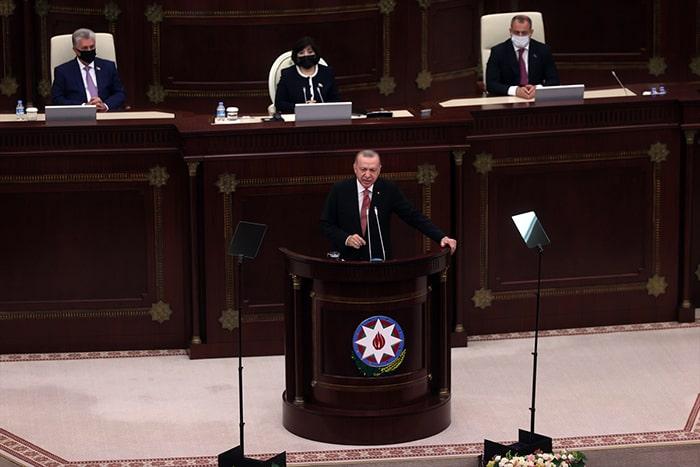 Dünya bilsin ki yarın da Azerbaycan'ın yanında yer alacağız