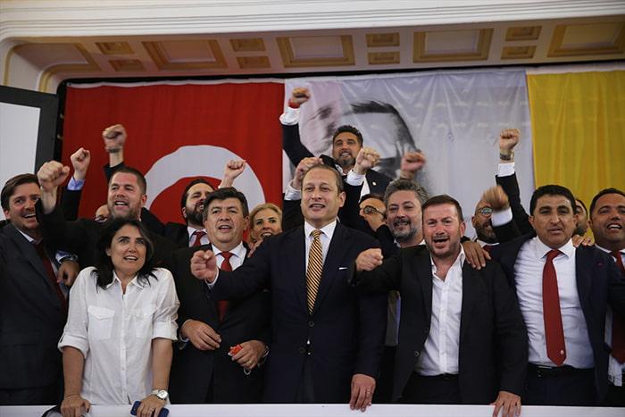 Galatasaray'ın 38. başkanı Burak Elmas