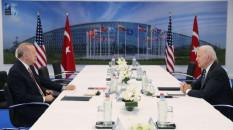 Erdoğan, ABD Başkanı Biden ile baş başa görüştü