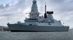 Karadeniz'de İngiliz gemisine uyarı ateşi