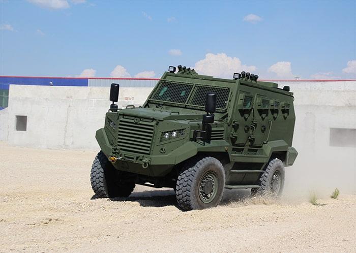Kenya da Türk zırhlı araçlarını seçti