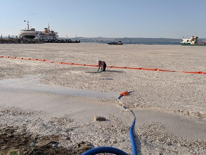 Marmara'daki müsilaj sorununa oksijen çözümü