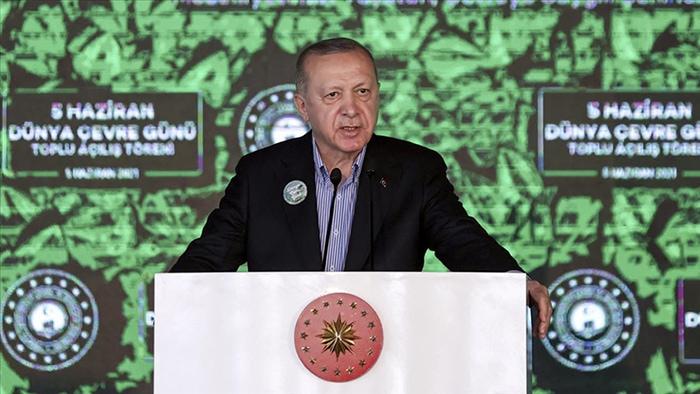 Erdoğan: Denizlerimiz müsilaj belasından kurtaracağız