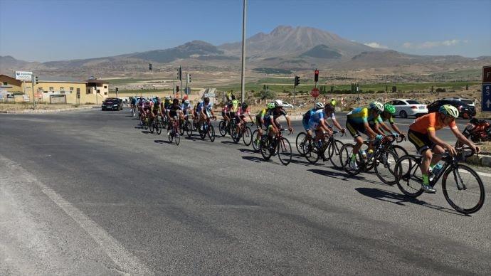 Erciyes 2021 Yol Bisikleti Yarışları'nın son etabı yapıldı