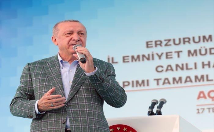Erzurum Genişletilmiş İl Danışma Toplantısı'nda konuştu