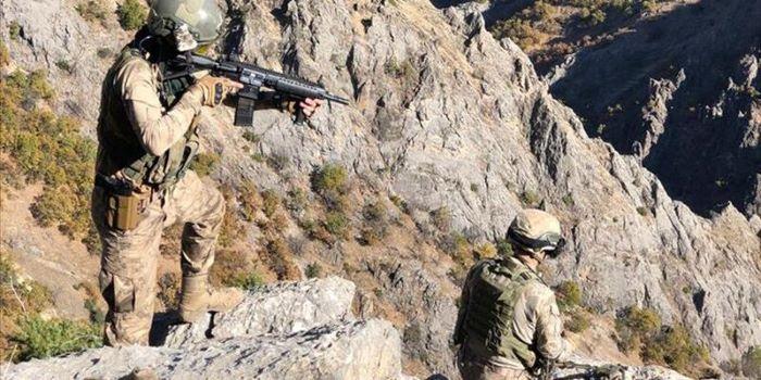 Irak'ta 2 PKK'lı etkisiz hale getirildi