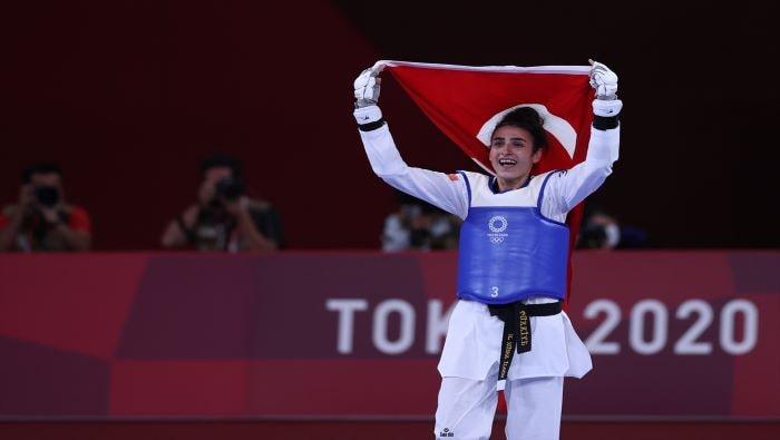Milli tekvandocu Hatice Kübra İlgün, bronz madalya kazandı