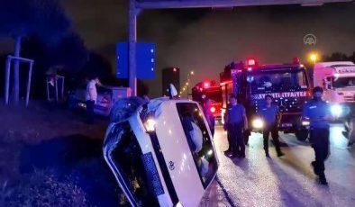 Şile otoyolunda trafik kazası