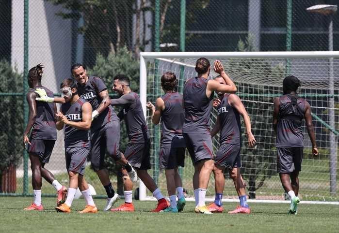 Trabzonspor'da yeni sezon hazırlıklarını sürdürüyor