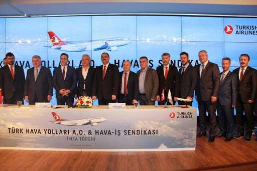 Türk Hava Yolları ve Hava-İş Sendikası maaş zammında anlaştı