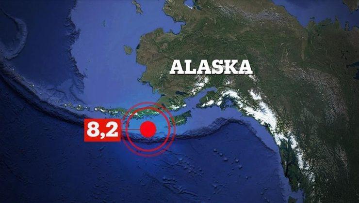 Alaska açıklarında 8.2 büyüklüğünde deprem