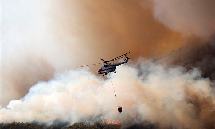 21 ilde 63 orman yangını meydana geldi
