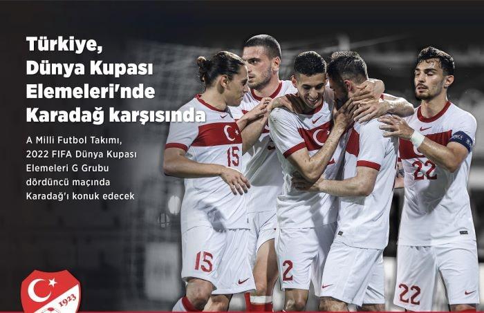 A Milli Futbol Takım Karadağ maçına hazır