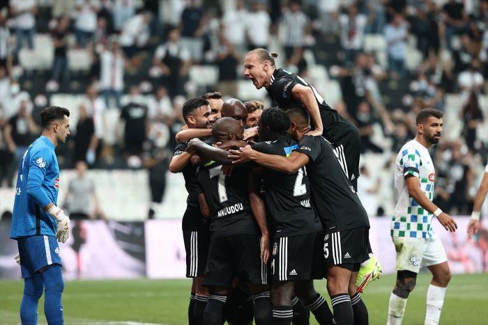 Beşiktaş, sezona galibiyetle başladı