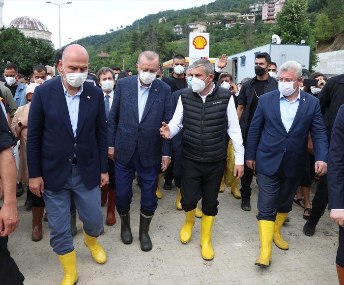 """Bozkurt """"Genel Hayata Etkili Afet bölgesi"""" ilan edildi"""