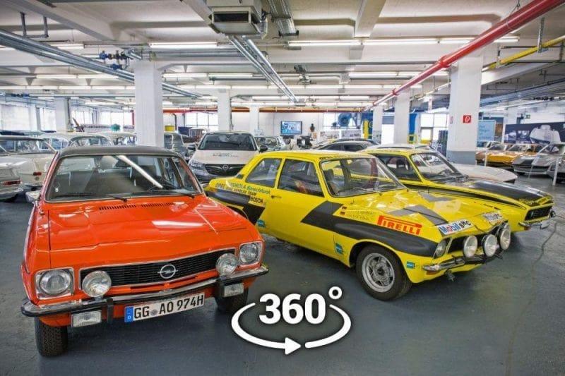 """Klasik modellerin sergilendiği """"Opel Müzesi"""" artık online"""