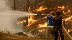 Manavgat'taki orman yangınları kontrol altına alınamadı