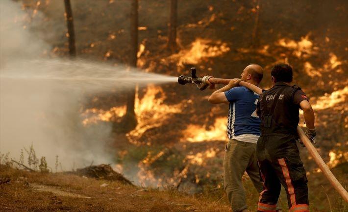 Son 8 günde 174 orman yangını çıktı
