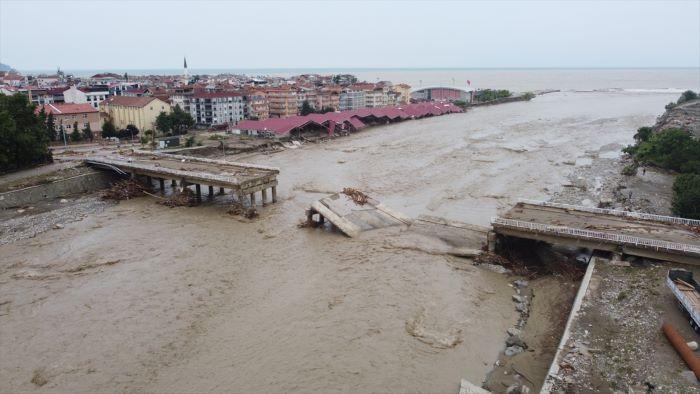 Sel felaketinin yaşandığı  İlçelerde son durum