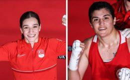Kadın boksörlerimiz olimpiyatlarda altın için ringe çıkacak
