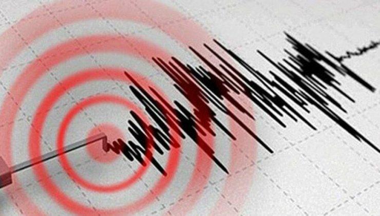Ege denizin'de deprem