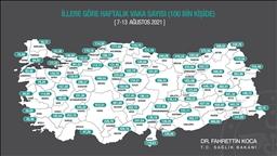 İstanbul ve İzmir'de vakalar azaldı Ankara'da arttı