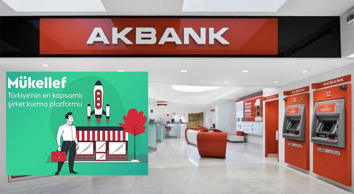 Akbank ve Mükellef'ten girişimcilere şirket kurma desteği
