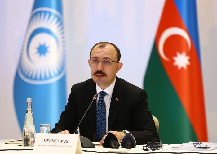 Bakan Muş, Türk Konseyi Ekonomi Bakanları Toplantısı'nda konuştu