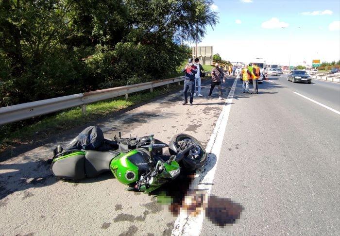 Çamlıca Gişeleri'nde trafik kazası