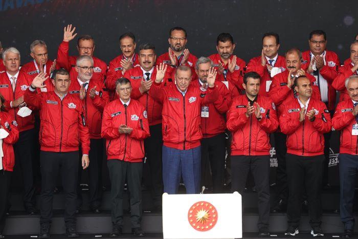 Erdoğan, TEKNOFEST'te konuştu