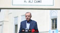 Erdoğan, cuma namazı çıkışında soruları yanıtladı