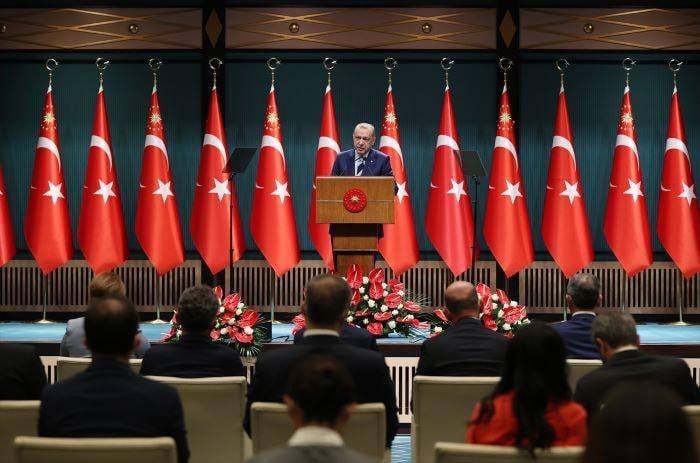 Erdoğan Kabine Toplantısı'nın ardından millete seslendi