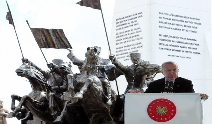 Erdoğan, Sakarya Zaferi Kutlamalarında konuştu