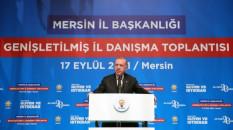 Erdoğan, partisinin Mersin İl Danışma Toplantısı'nda konuştu