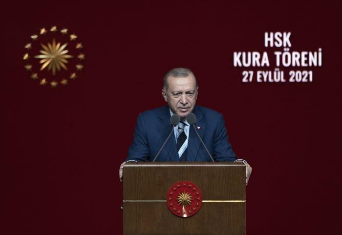 Erdoğan,Hakimler ve Savcılar Kura Töreni'nde konuştu
