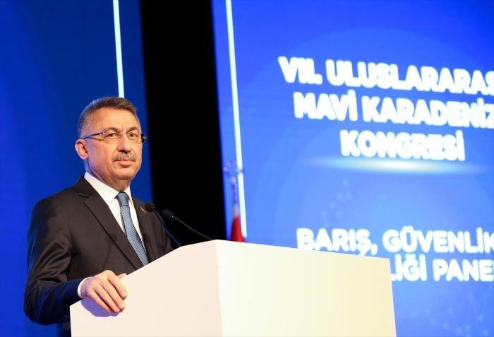 Fuat Oktay, NATO'nun Karadeniz'e müdahalesini eleştirdi