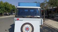 Kargo aracı süsü verilmiş kamyonetle kaçak akaryakıt satışı