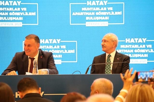 Kılıçdaroğlu, Hatay'da Muhtarlarla Buluşması'nda konuştu