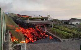 La Palma'da yanardağı 11 günde 656 evi kül etti