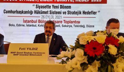 MHP İstanbul Bölge İstişare Toplantısı yapıldı