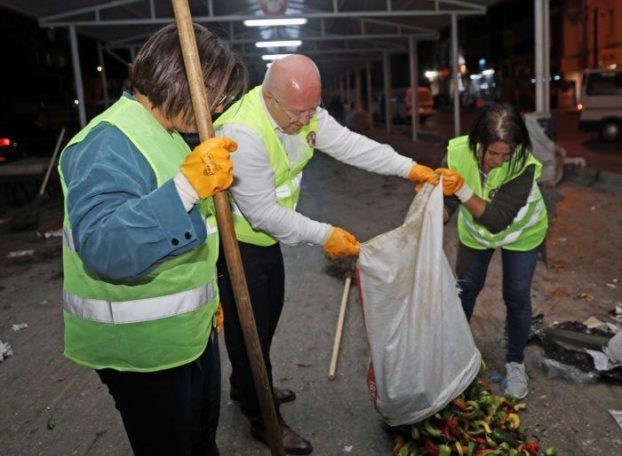Muğla'da çevresel atıklar gübreye dönüştürülüyor