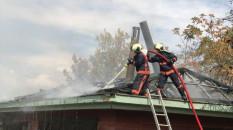 ODTÜ Vişnelik Tesisleri'nde yangın çıktı
