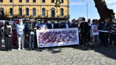 """Trabzon'da Çin'in """"Doğu Türkistan politikası"""" protesto edildi"""