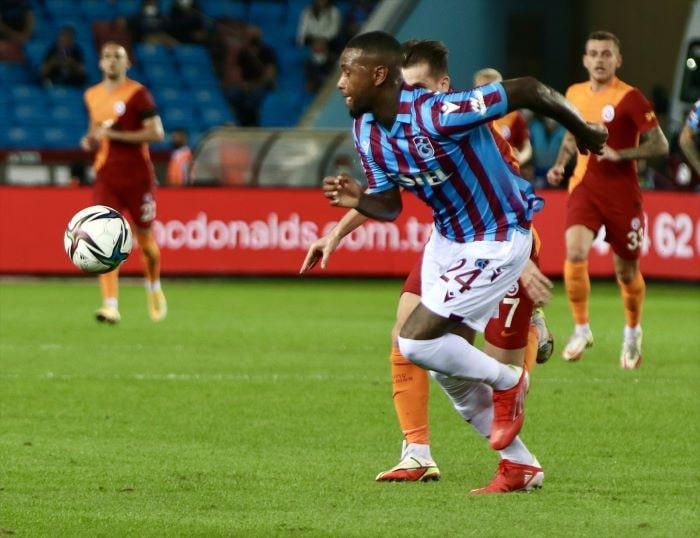 Trabzonspor ile Galatasaray'dan puan kaybı